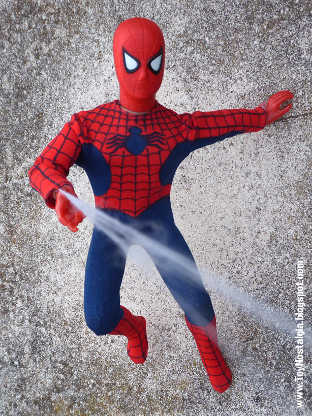 Mego Spider-Man 12 inches spider web   (MEGO - World's Greatest Super Heroes!)