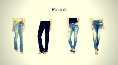 Marca de Calça Jeans Feminina Forum