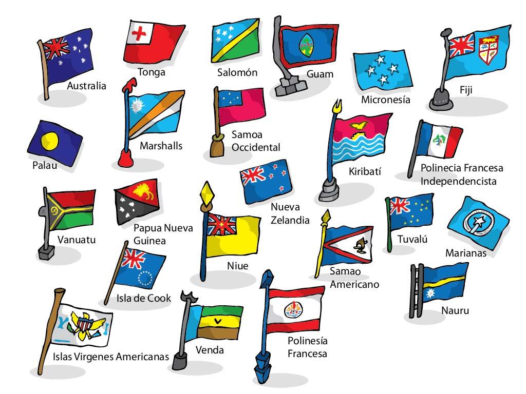 Imagenes De Banderas Y Sus Nombres