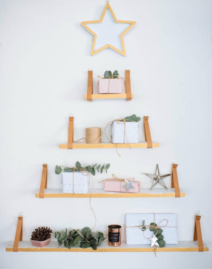 Diy original árbol de Navidad