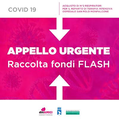 Raccolta Fondi per la Terapia Intensiva di Monfalcone - Emergenza Coronavirus