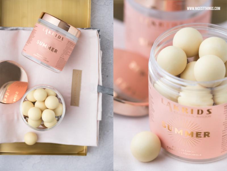 Lakrids Summer Special Edition Lakritz mit Pfirsich und weißer Schokolade