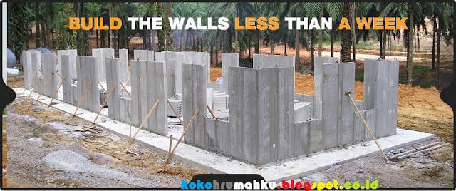 beton precast untuk rumah tinggal tapak