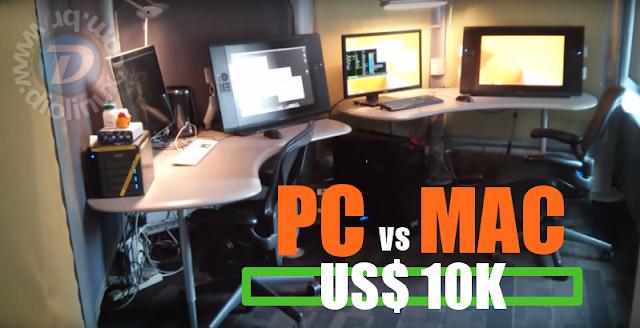 PC e Mac de 10k