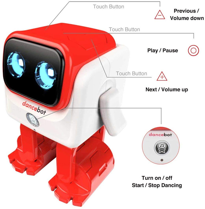 Echeers Kids Toys Dancing Robot