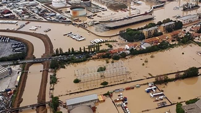 Heavy rain, floods leave 6 dead in Italy