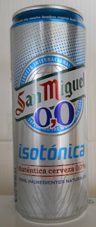 cerveza isotonica San Miguel