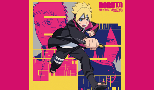 Manga Boruto Chapter 45