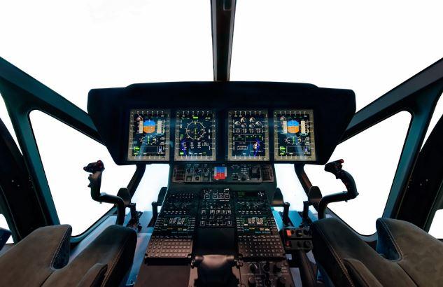 Airbus H160 cockpit