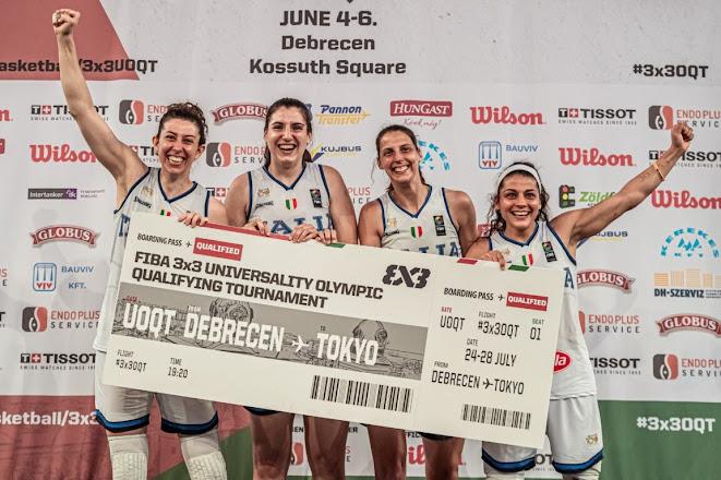 L'impresa della nazionale del basket 3×3 femminile: l'Italia torna alle Olimpiadi