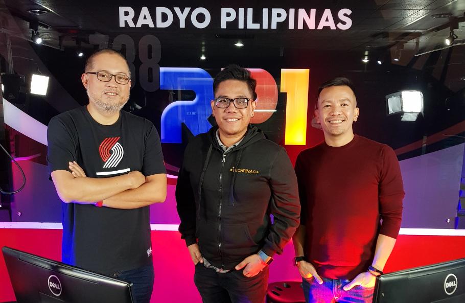 Gear Box Radyo Pilipinas 1, Kap Maceda Aguila, Mark Milan Macanas, Eric Tipan