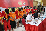 Akibat Pembakaran dan Pencurian, 17 Pemuda Diamankan Resmob Polda Sulsel