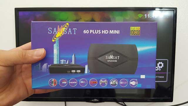 طريقة تحديث + تفعيل السيرفر لجهاز الإستقبال SAMSAT 60 PLUS HD MINI