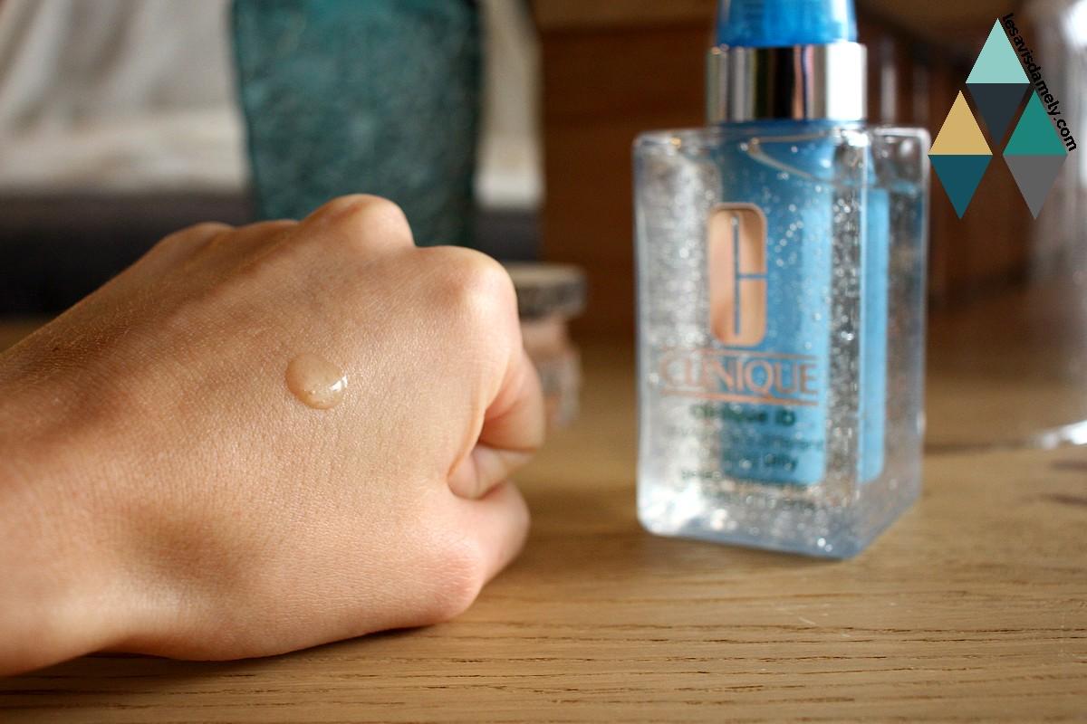 avis soin hydratant texture gel eau légère serum sur mesure clinique