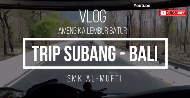 Vlog Tour Subang - Jogja - Bali || Youtube Wandhe Fadilah