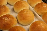 Fresh baked buns near Gatlinburg