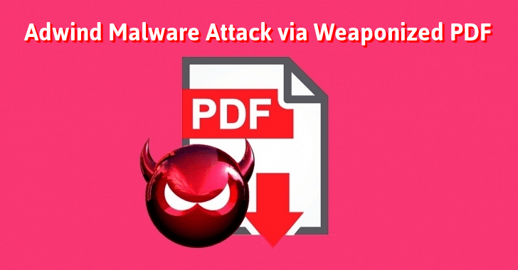 Malware-as-a-service – Adwind Malware Attack Utilities Industry Via Weaponized PDF File