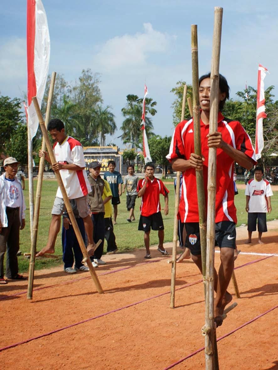 Macam Macam Olahraga Tradisional Indonesia : macam, olahraga, tradisional, indonesia, OLAHRAGA, REKREASI:, Permainan, EGRANG