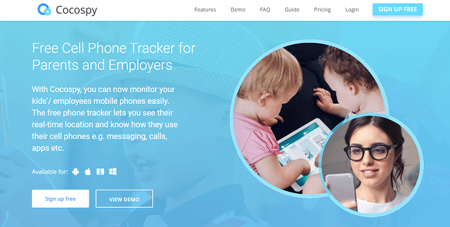 Cocospy Review: Free Cell Phone Tracker for Parents and