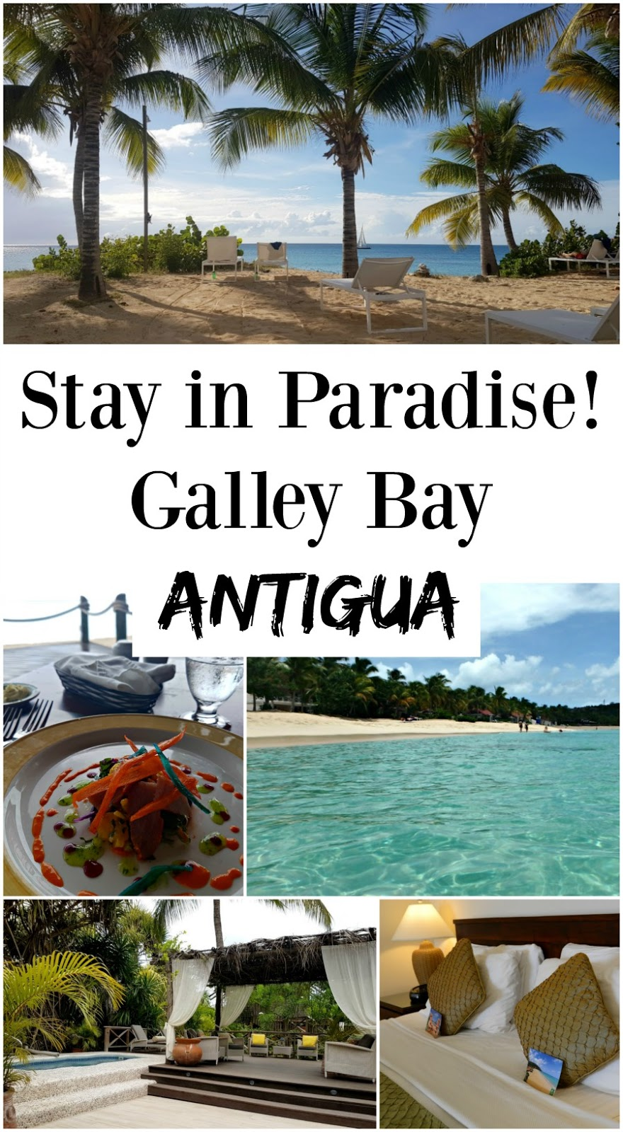 A review of luxury hotel, the Galley Bay Resort & Spa, on the Caribbean island of Antigua! A stunning adults-only hotel set in a secluded bay, it feels like an oasis in paradise.