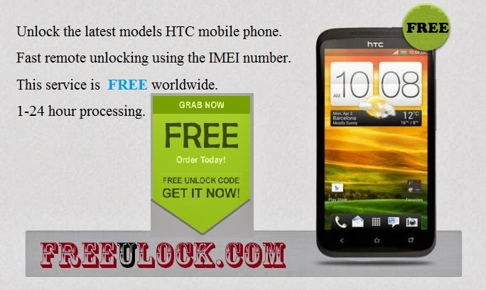 FREE HTC CELL PHONE UNLOCKING SERVICE: Free HTC Mobile Phone