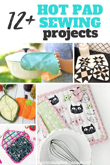 Start sewing for your kitchen with these creative pot holder patterns.