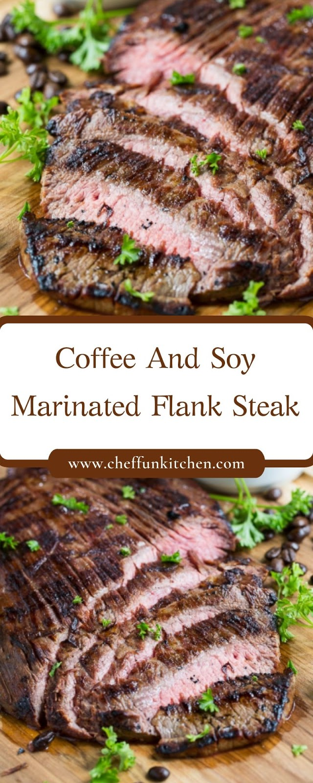 Coffee And Soy Marinated Flank Steak