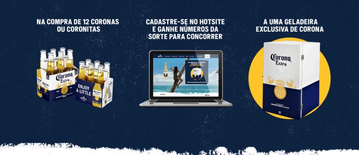 Participar Promoção Corona 30 Geladeiras Exclusivas Cadastrar - Sorteio Cervejeiras