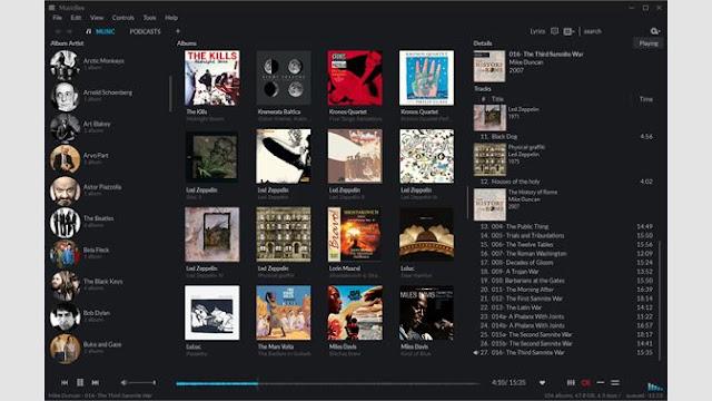 9. MusicBee