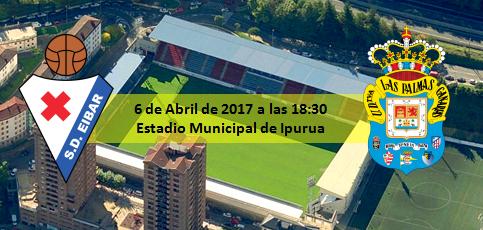 Previa 6 Abril 2017 SD Éibar - UD Las Palmas