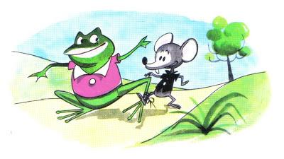 el raton y la rana fabula