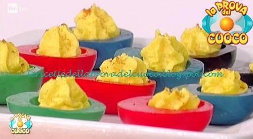 Ricetta delle Uova colorate da La Prova del Cuoco