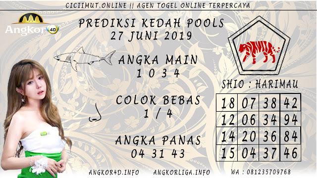 PREDIKSI KEDAH POOLS 27 JUNI 2019
