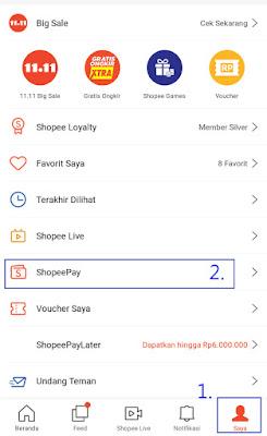 11 Langkah Top Up Saldo Shopeepay Melalui Jenius Bank Btpn