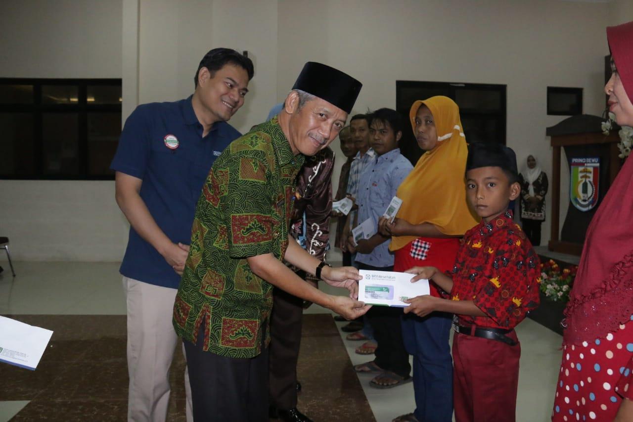 Penerima Iuran Bantuan Jaminan Kesehatan Di Pringsewu Capai 167.688 Jiwa
