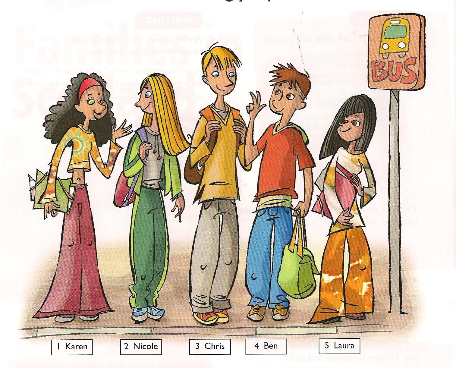 Los Rosales In English Describing People