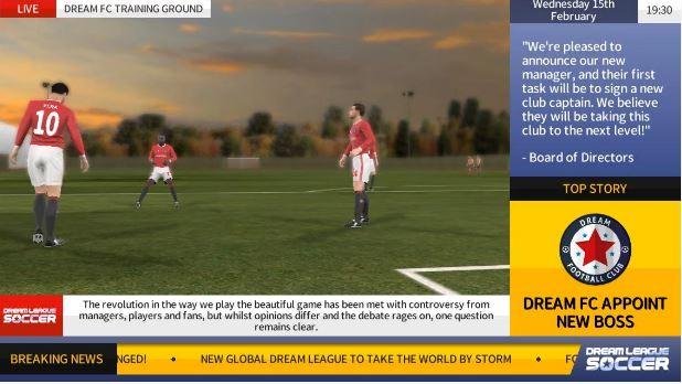 Dream League Soccer 2017 MOD APK terbaru