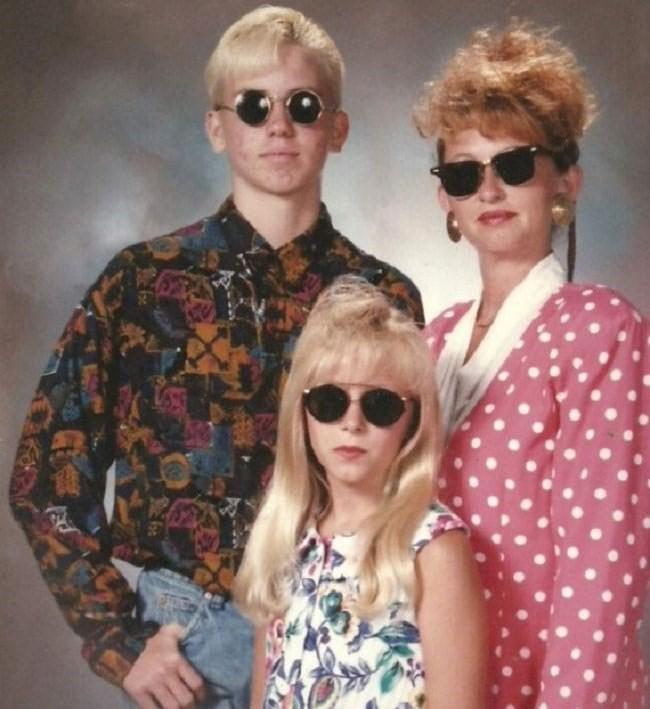 Fotos bizarras de álbuns de famílias