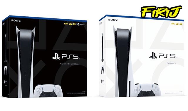 La fiche technique du console de Sony la PlayStation 5