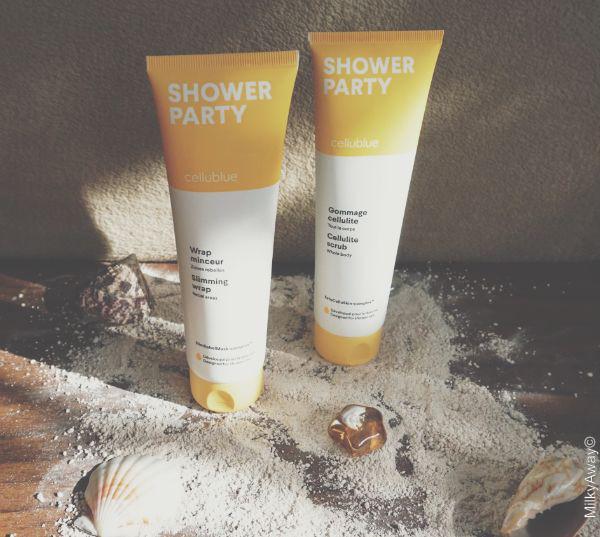 Gamme Shower Party par Cellublue®
