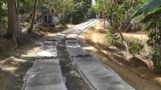 Pembanguan Cor Jalan Dusun RT 04/RW 03 Dusun Purwosari