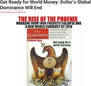 미국 달러 몰락, IMF SDR 특별인출권 국제기축통화 부상 - James G. Rickards