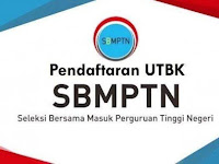 Portal.LTMPT.ac.id, Registrasi Akun, UTBK, Pendaftaran SBMPTN 2020