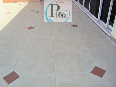 #decorativeconcrete #decorativeoverlay #patiodeck #concrete