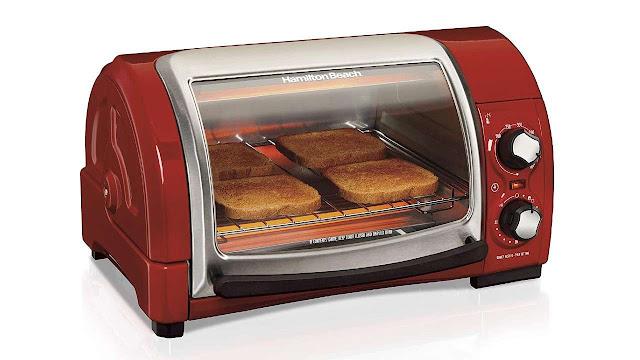 Hamilton Beach Easy Reach Countertop Toaster Oven
