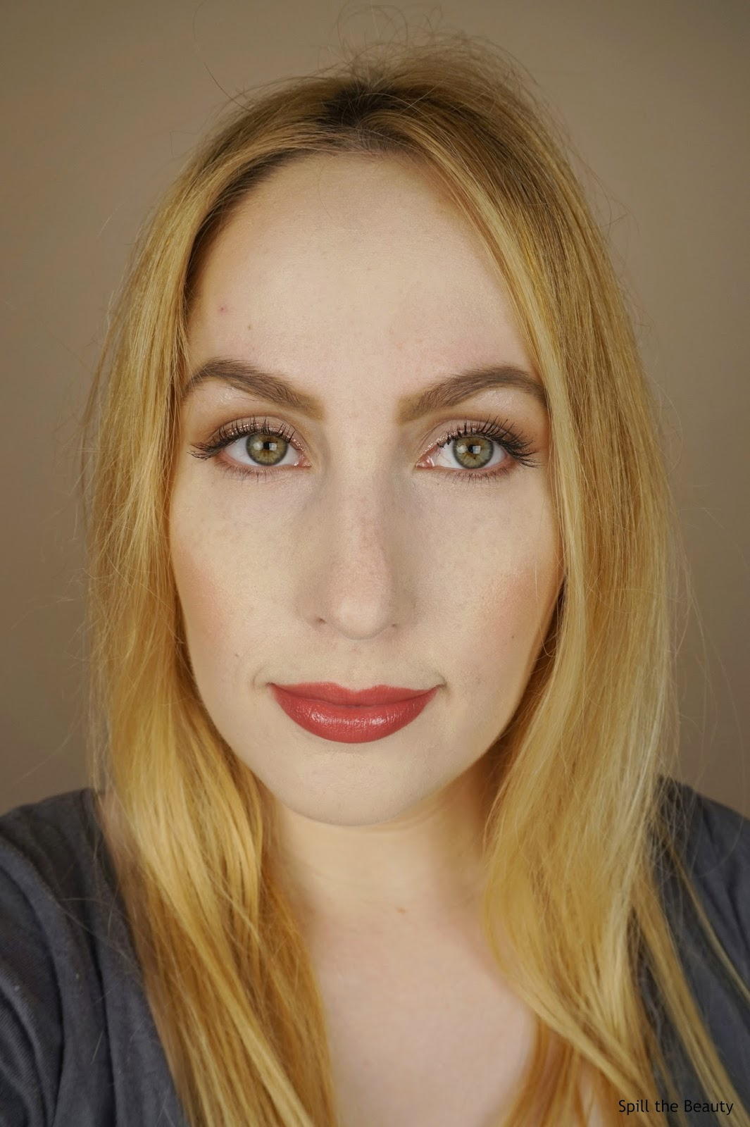 too faced la creme lipstick cinnamon kiss swatch comparison dupe