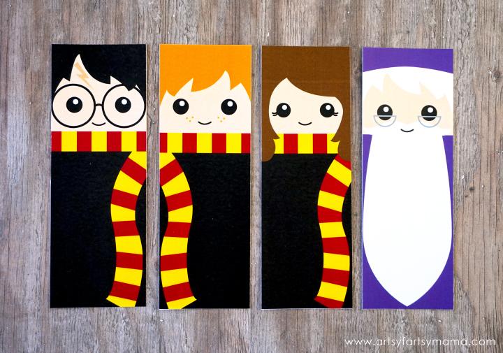 Marcador de página Harry Potter