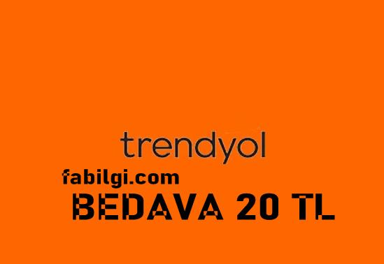 Trendyol Ücretsiz 20 TL Kazanma Cüzdan Kodu Hilesi 2021 Yeni