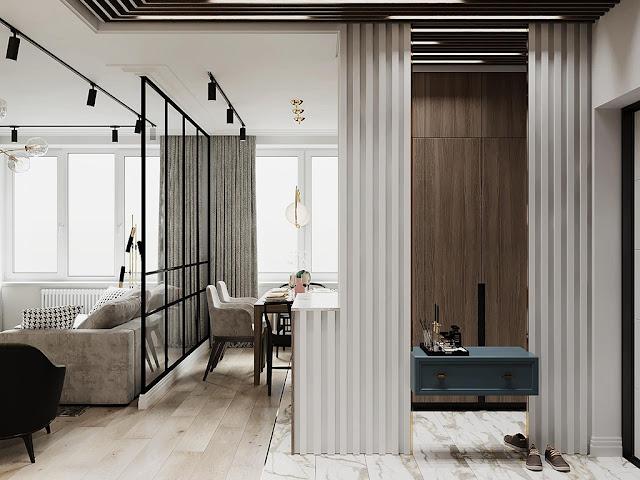 Hình ảnh thiết kế nội thất chung cư phong cách hiện đại P1