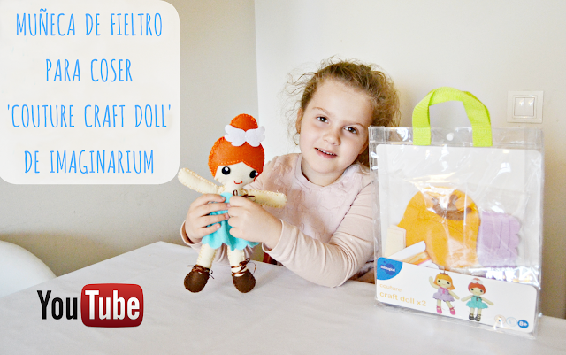 Imaginarium Muñeca de Fieltro para Coser Couture Craft Doll #imaginariumyoutubers